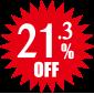 21.3%OFF