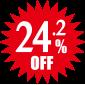 24.2%OFF
