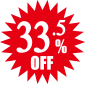 33.5%OFF