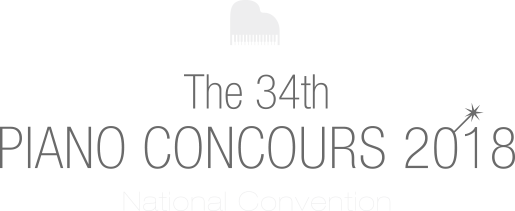 The 34th Piano Concours 2018 National Convention