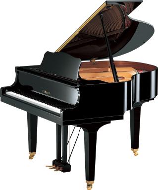 グランドピアノ(3本ペダル)